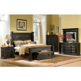 Marbella Panel Bedroom Set