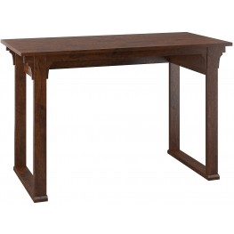 "Mission Creek Antique Cherry 48"" Writing Desk"