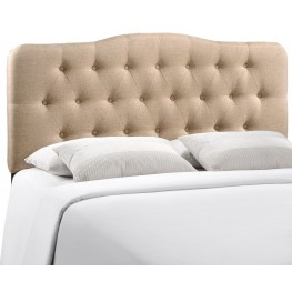 Annabel Beige Full Fabric Headboard
