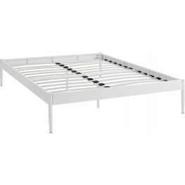 Elsie White Full Bed Frame