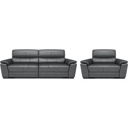 ... Westport Morgan Graystone Power Reclining Living Room Set