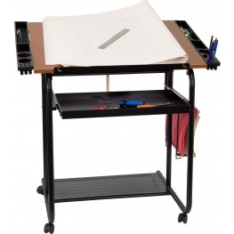 Adjustable Black Drafting Table (Min Order Qty Required)