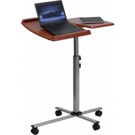 Angle And Height Adjustable Mobile Laptop Computer Table (Min Order Qty Required)