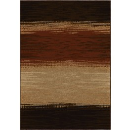 Four Seasons Indoor/Outdoor Stripes Allendale Multi Small Area Rug