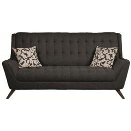 Natalia Black Sofa