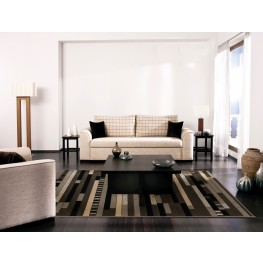 "Nuance Rhythm Earl Grey Medium 90"" Rug"