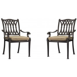Primera Black Dining Chair Set of 2