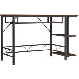 Bell'O Umber Oak Farley Computer Desk
