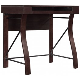Bell'O Dark Espresso Desk
