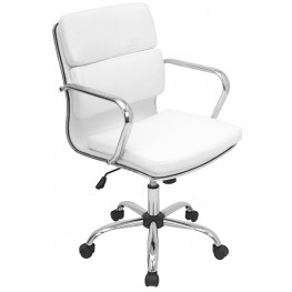 Bachelor Office White Chair