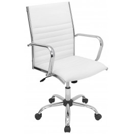 Master Office White Chair