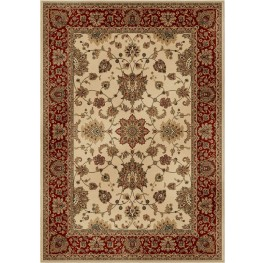 American Heirloom Borokan Ivory Small Area Rug