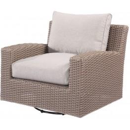 Reims Spuncrylic Swivel Glider Lounge Chair