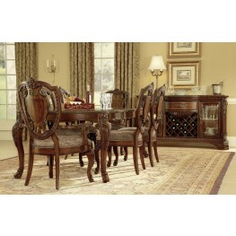 Old World Extendable Dining Room Set