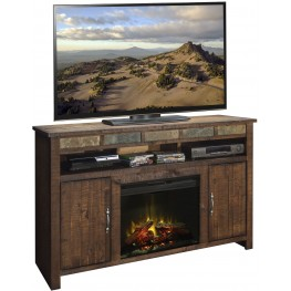 """Old West Old West 60"""" Fireplace Console"""