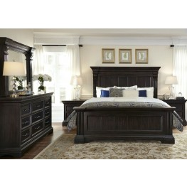 Caldwell Brown Panel Bedroom Set