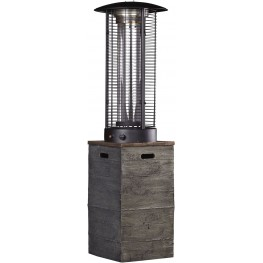 Hatchlands Brown and Gray Outdoor Patio Heater