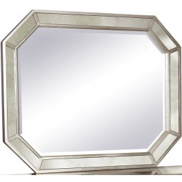 Couture Silver Sideboard Mirror