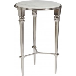 Lott White Accent Table