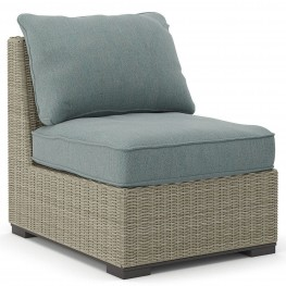 Silent Brook Beige Armless Chair