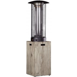 Peachstone Beige and Brown Outdoor Patio Heater