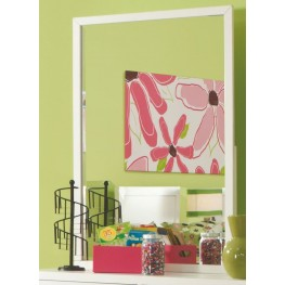 Smart Solutions White Vertical Mirror