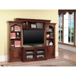 Premier Athens 4 Piece X-Pandable Entertainment Wall Unit