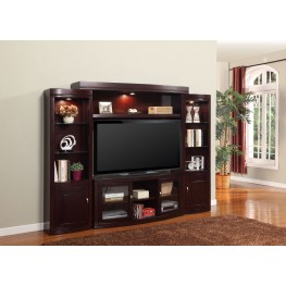 Premier Biscayne 4pc Entertainment Wall Unit
