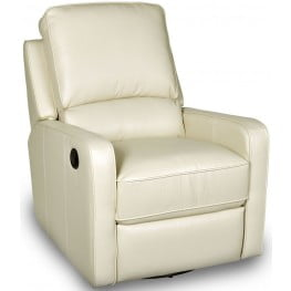 Perth Somerset Creme Ii Swivel Glider Recliner