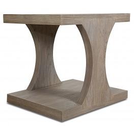 Palmer Driftwood Rectangular End Table