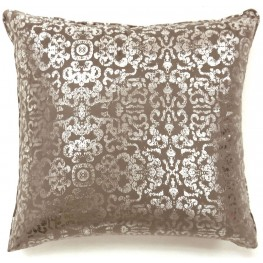 "Lia Beige 18"" Pillow Set of 2"