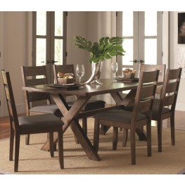03eb0f12b26d Alston Knotty Nutmeg Rectangular Dining Room Set · by Coaster Furniture