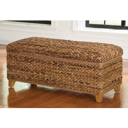 Laughton Natural Woven Trunk