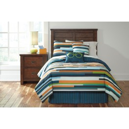 Seventy Stripe Full Size Bedding Set