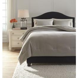 Aracely Taupe King Comforter Set
