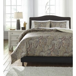 Damonica Multi King Duvet Cover Set