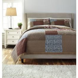 Patchwork Queen Comforter Set