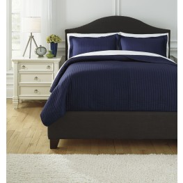 Raleda Navy King Comforter Set