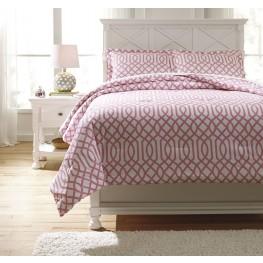 Loomis Pink Full Comforter Set