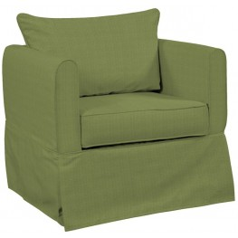 Alexandria Seascape Moss Chair Cover
