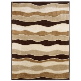 Frequency Toffee Medium Rug