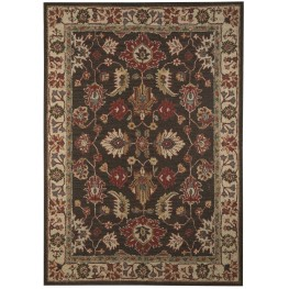 Stavens Brown Medium Rug