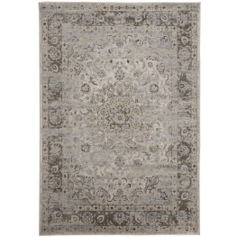 Kyan Blue and Ivory Large Rug