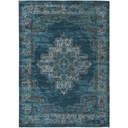 Moore Blue and Teal Large Rug