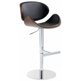 Bowen Onyx Adjustable Barstool