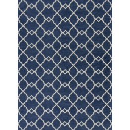 "Retreat Navy Layla 31"" X 20"" Rug"