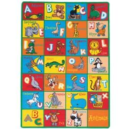 Abbey Alphabet Small Area Rug