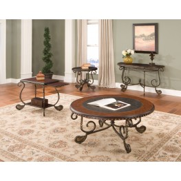 Rosemont Medium Cherry Occasional Table Set