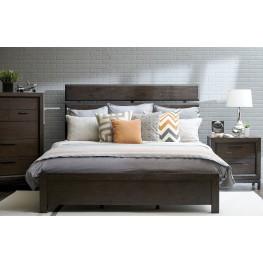 Fulton St. Brown Plank Bedroom Set