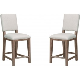 Highland Park Aged Light Brown Gathering Chair Set of 2